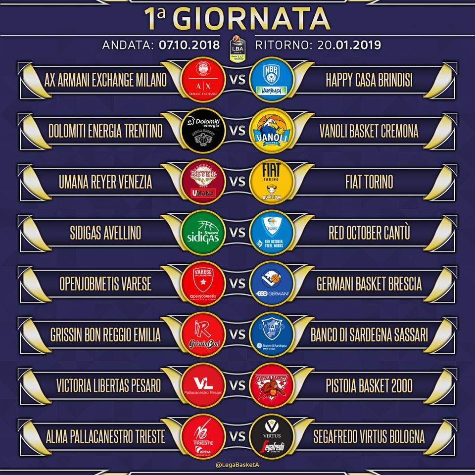 Calendario Romena 2019.Avlive Sidigas Avellino Ecco Il Calendario Del Campionato